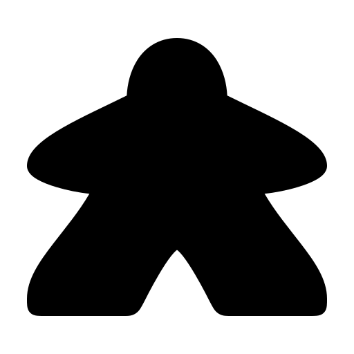 Meeple icon | Game-icons.net
