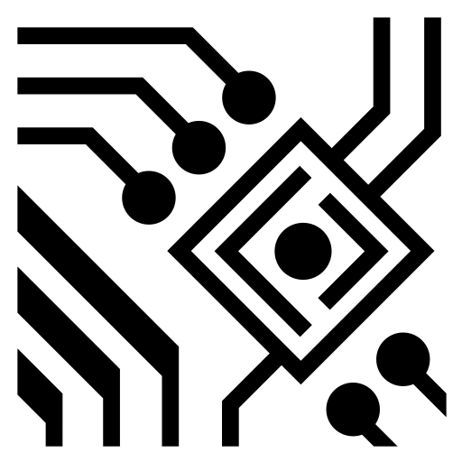 Circuitry icon | Game-icons.net