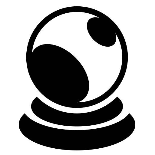 Crystal Ball Icon Game iconsnet