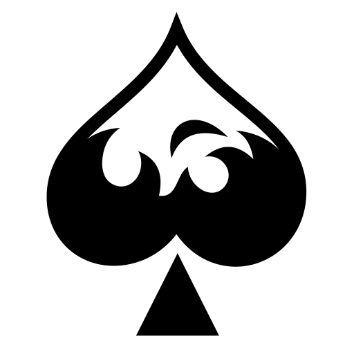 Fire ace icon | Game-icons.net