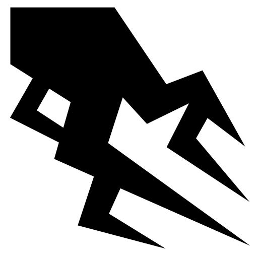 Heavy Lightning Icon Game Icons Net