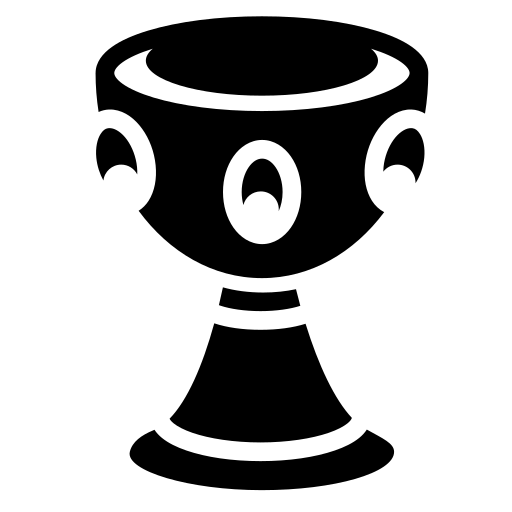 Jeweled chalice icon - Game-icons.net