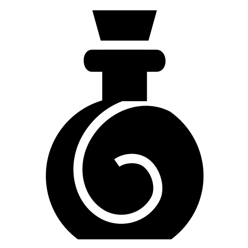 Spiral bottle icon | Game-icons.net