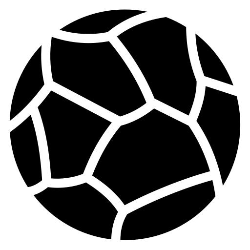 Stone sphere icon | Game-icons.net