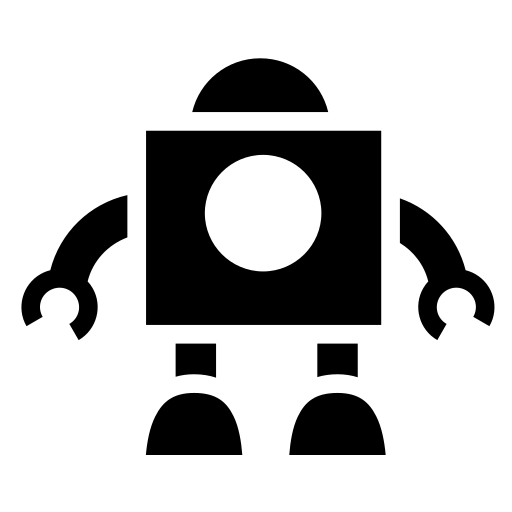 Vintage robot icon | Game-icons.net