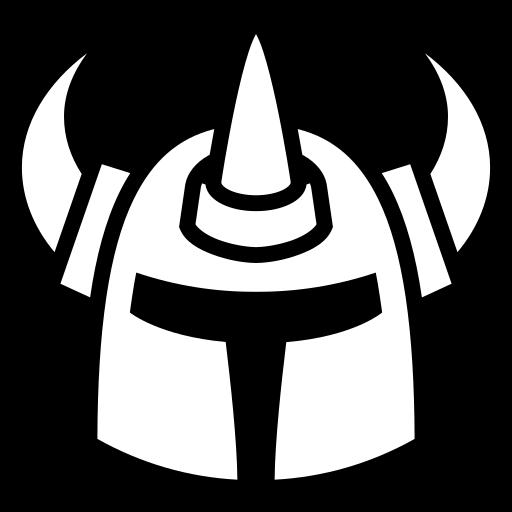 Brutal helm icon | Game-icons.net: game-icons.net/carl-olsen/originals/brutal-helm.html
