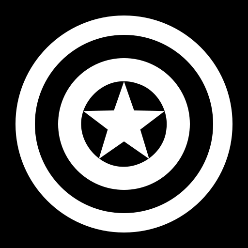 American shield icon | Game-icons.net