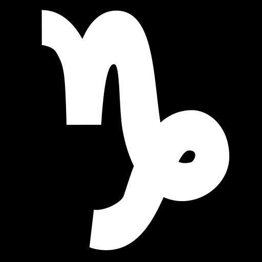Capricorn icon | Game-icons.net