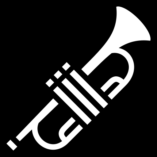 Trumpet icon | Game-icons.net Wind
