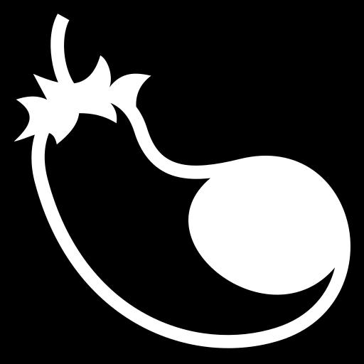 Aubergine icon | Game-icons.net: game-icons.net/lorc/originals/aubergine.html