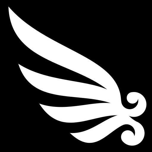 About >> Curly wing icon | Game-icons.net