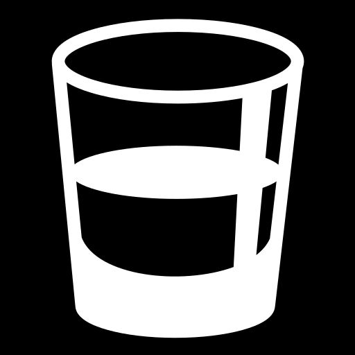 Glass shot icon