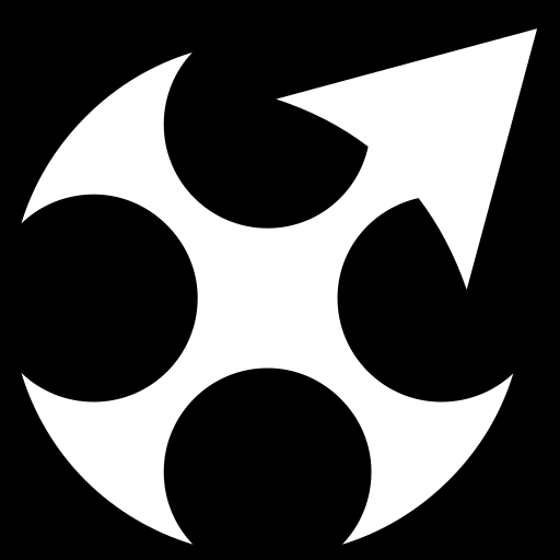 Halberd Shuriken icon | Game-icons.net