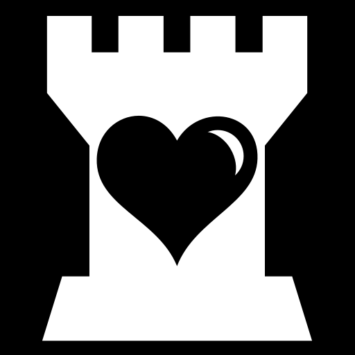 Heart Tower Icon Game Icons Net
