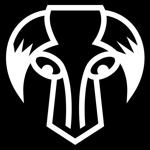 Horned skull icon | Game-icons.net: game-icons.net/lorc/originals/horned-skull.html