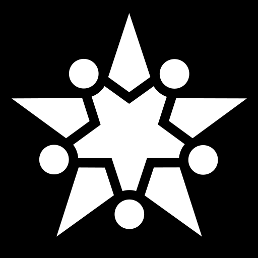 Justice star icon | Game-icons.net