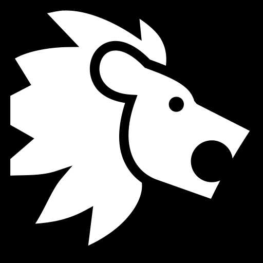 Lion icon | Game-icons.net: game-icons.net/lorc/originals/lion.html