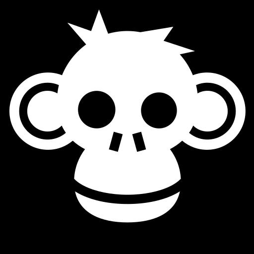 Monkey icon   Game-icons.net