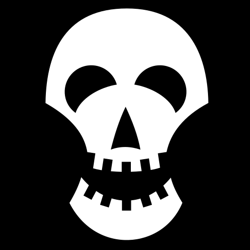 Morbid Humour icon | Game-icons.net: game-icons.net/lorc/originals/morbid-humour.html