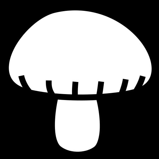 Mushroom icon | Game-icons.net: game-icons.net/lorc/originals/mushroom.html
