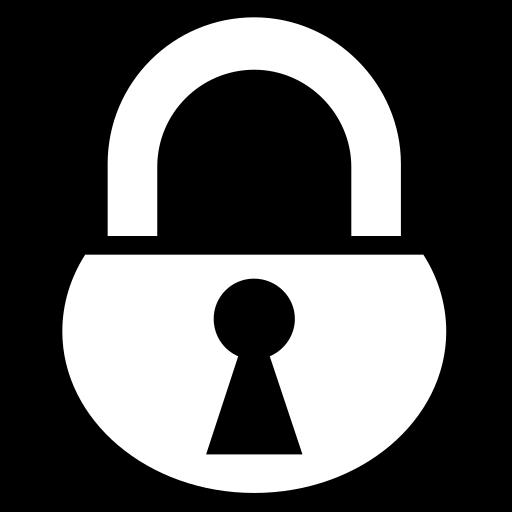 Padlock Icon Game iconsnet