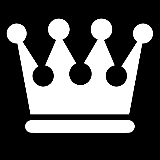 Queen And King Crown Symbol Queen crown ico...