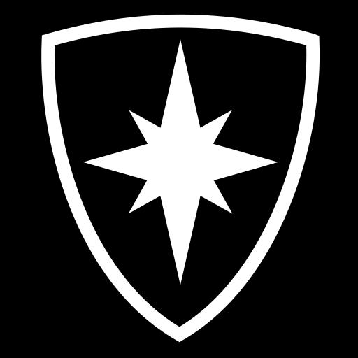 Rosa shield icon | Game-icons.net: game-icons.net/lorc/originals/rosa-shield.html