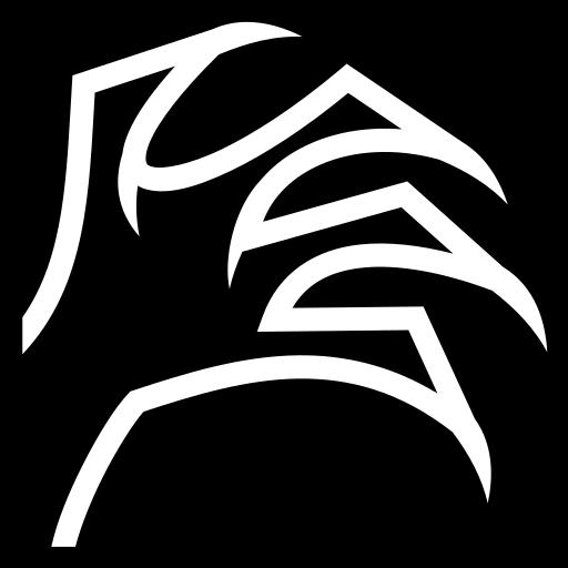 Shadow grasp icon   Game-icons.net