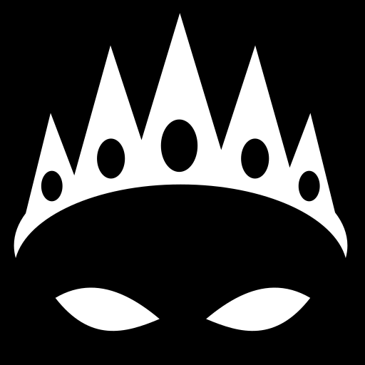Sharp crown icon | Game-icons.net