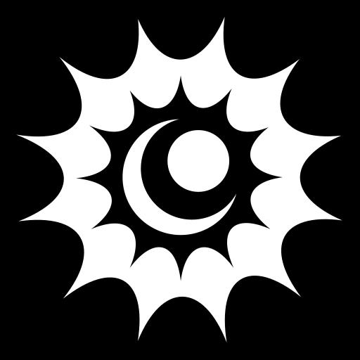 Shiny iris icon | Game-icons.net Eclipse