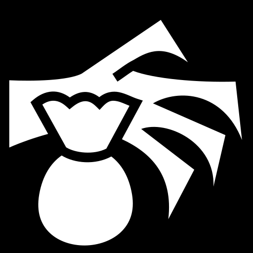 Snatch icon | Game-icons.net Money