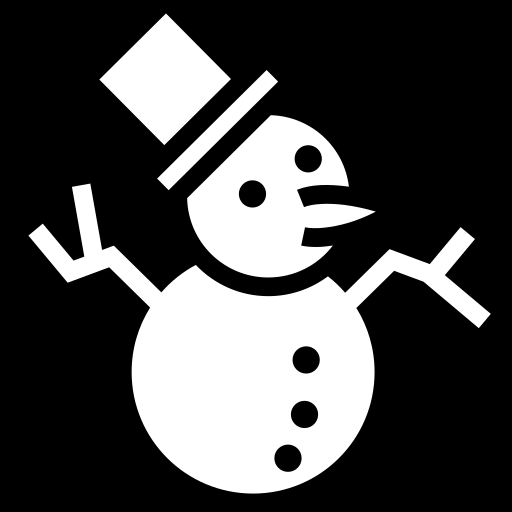 Snowman icon | Game-icons.net: game-icons.net/lorc/originals/snowman.html