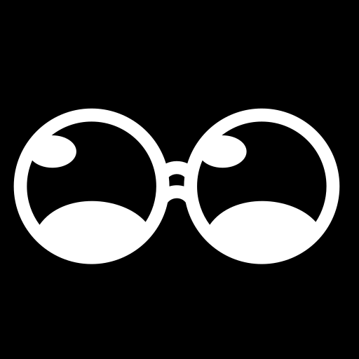 Spectacle lenses icon | Game-icons.net: game-icons.net/lorc/originals/spectacle-lenses.html