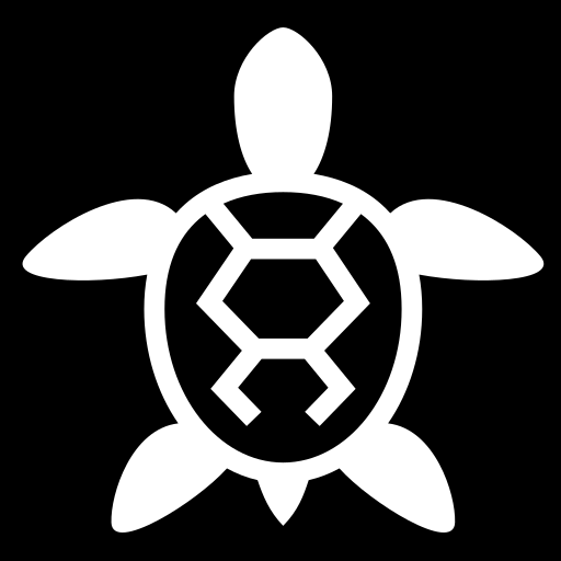 Turtle icon | Game-icons.net
