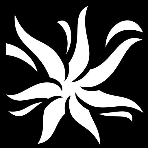Vanilla Flower icon | Game-icons.net