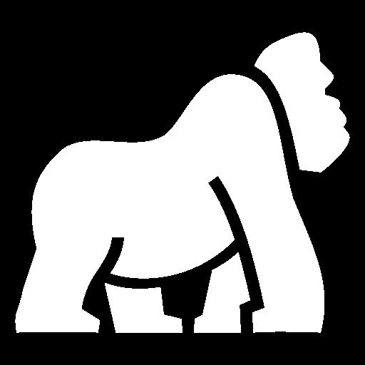 gorilla icon game icons