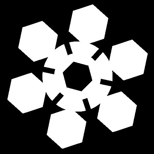 Snowflake 2 icon | Game-icons.net