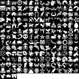 Animal icons montage
