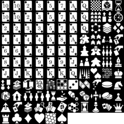 Board & Card icons montage