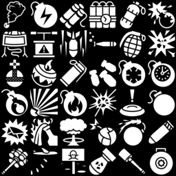 35 Bomb Icons Svg And Png Game Icons Net