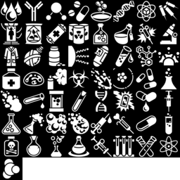 Chemical icons montage