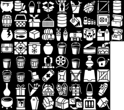 Container icons montage