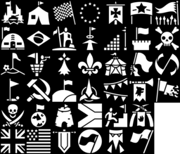Flag icons montage