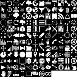 GUI icons montage