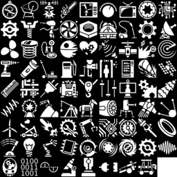 Machine icons montage