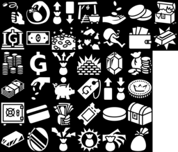 36 Money Icons Svg And Png Game Icons Net