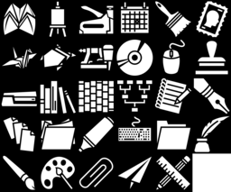 Office icons montage
