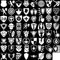 Shield icons montage