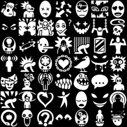 State & mood icons montage