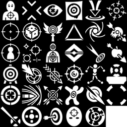Target icons montage